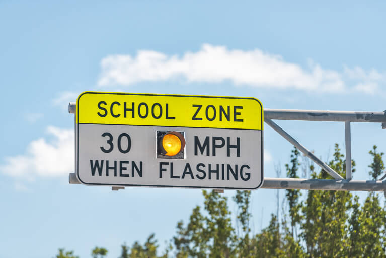 School Zone Driving Laws